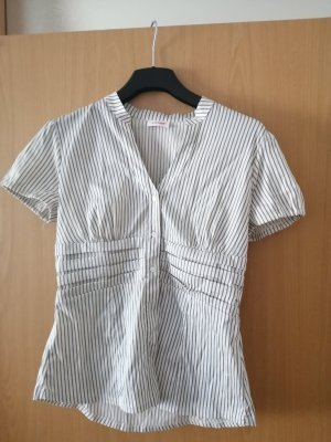 Orsay Short Sleeved Blouse white-grey polyamide