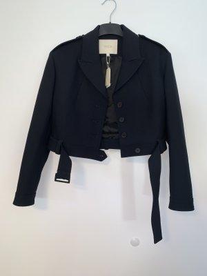 Elegante kurze Jacke von Maje Gr. 40 marine