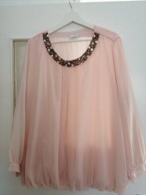 Canda Blusa trasparente rosa pallido