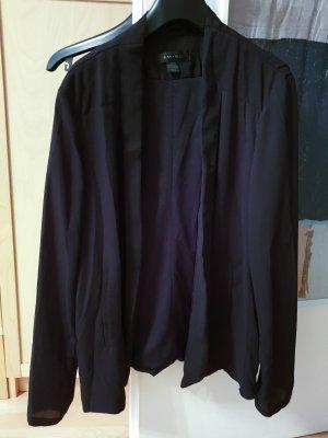 Amisu Marynarka koszulowa czarny