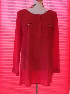 H&M Blouse longue rouge