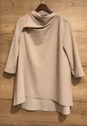 COS Bluzka ze stójką beżowy-jasnobeżowy