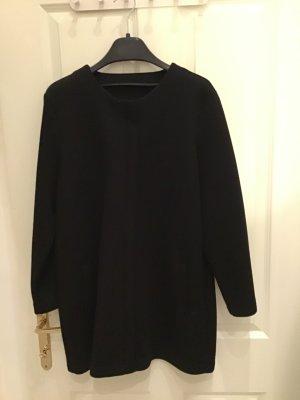 Veste d'extérieur noir viscose