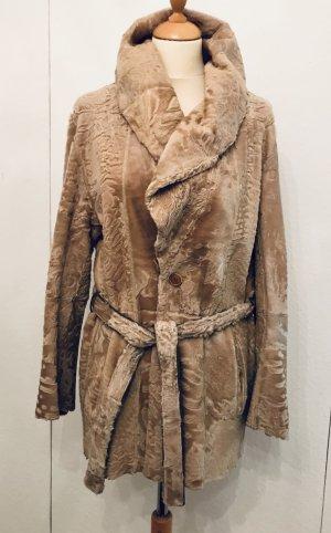 Pelt Jacket beige fur