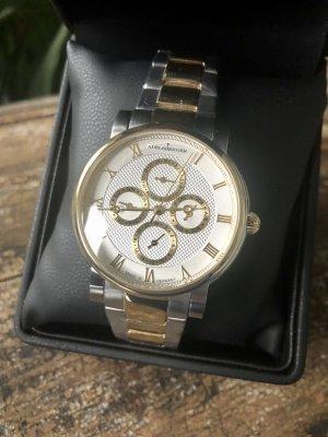 Adelsberger Zegarek z metalowym paskiem Wielokolorowy Metal