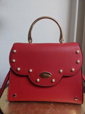 Elegante rote Handtasche von DUNE LONDON