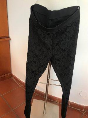Monari Pantalone elasticizzato nero