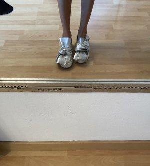 Elegante Schuhe metallic