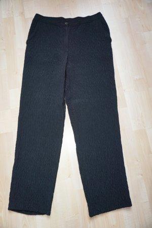 Elegante schwarze Hose von Rosner Gr.42 Viskose/Wolle