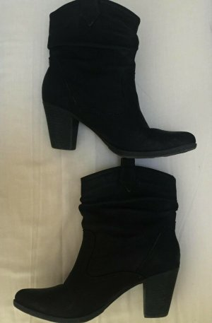 Slouch Booties black