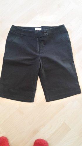 Orsay Pantalone a vita bassa nero Cotone