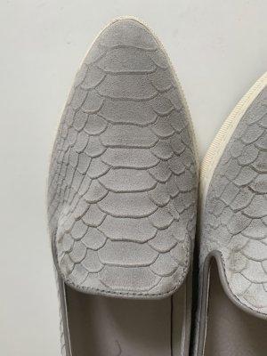 Elegante Slipper - Veloursleder