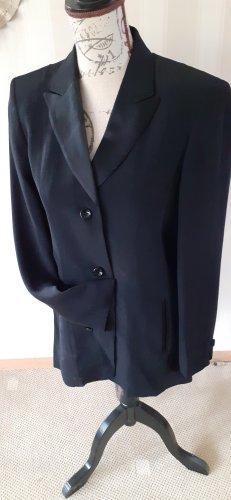 elegante Smokingjacke schwarz mit Satinrevier Gr.36, Betty Barclay