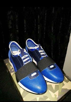 Elegante Sneaker Königblau Sportschuhe