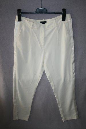 elegante Sommerhose von H&M Gr. 40 in cremeweiß - NEU