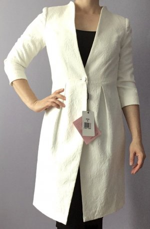 Apart  glamour Frock Coat white polyester