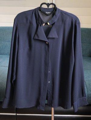 Elegante Stehkragen-Bluse
