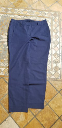 BC Collection Stoffen broek staalblauw-korenblauw