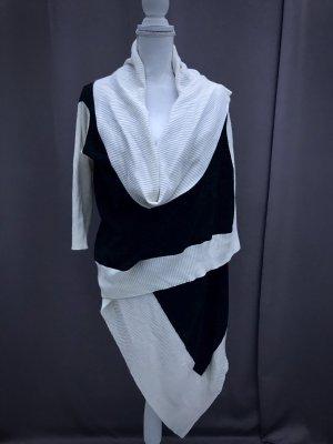 Elegante Strickwickeljacke Wolle Kaschmire Mischung NEU