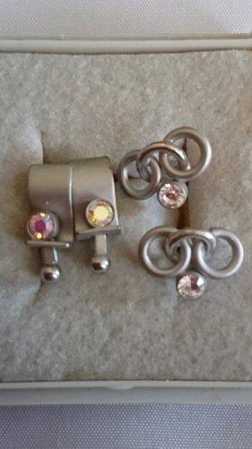 Elegante Süße kleine Ohrringe Ohrstecker mit Strasssteine