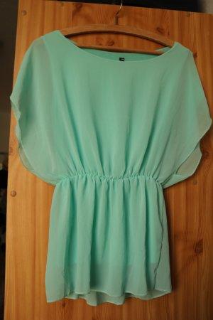 Elegante türkisfarbene Bluse