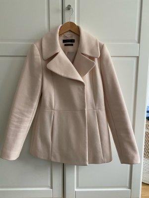 Hallhuber Giacca di lana rosa pallido Lana