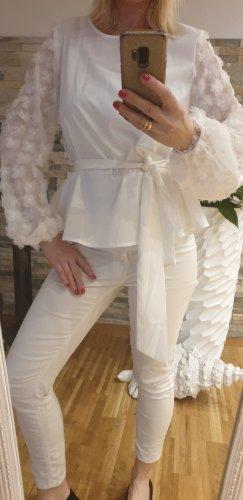 Elegante weiße Bluse Gr.M