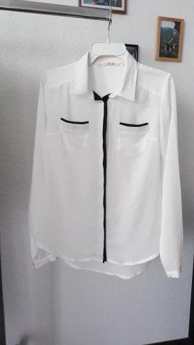 Elegante, weiße Bluse von Tom Tailor
