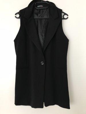 Made in Italy Blazer largo negro