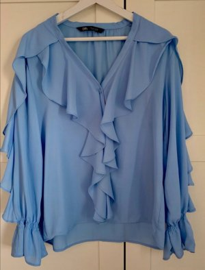 elegante Zara Bluse Gr L