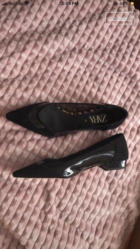 Zara Pantoffels zwart
