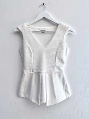 River Island A-lijn top wit Polyester