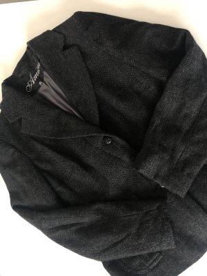 Amisu Korte blazer antraciet-zwart