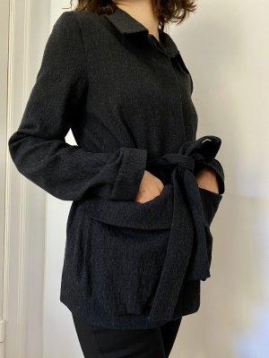 COS Blazer in lana grigio scuro