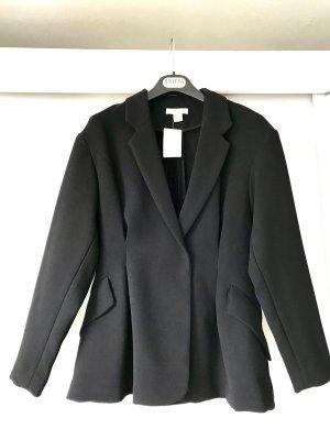 Eleganter Blazer schwarz klassisch tailliert