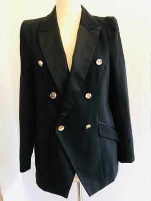 Eleganter Blazer; Smoking-Blazer mit Goldenen Knopfen von RIVER ISLAND, Gr.38D