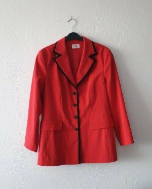 Alba Moda Jersey blazer zwart-rood