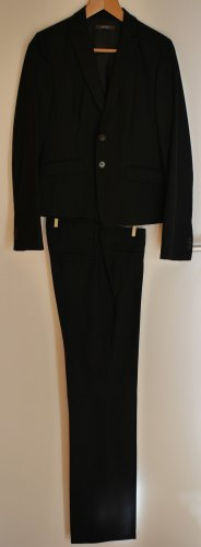 Eleganter Business Anzug Esprit schwarz wenig getragen