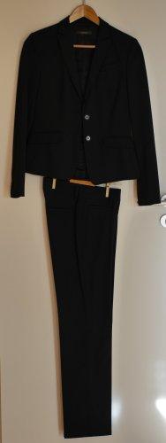 Eleganter Business Anzug Hallhuber schwarz wenig getragen
