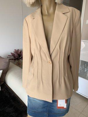Eleganter Business Blazer .. beige .. Gr. M 38 .. Neu #Together# Basic neuwertig