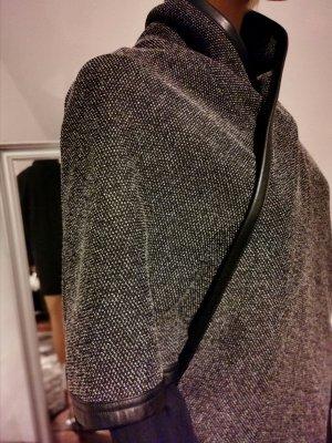 Comma Mantella nero-grigio chiaro