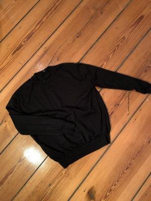 COS Wollen trui zwart Wol