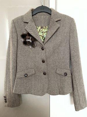 Tweed Blazer grey