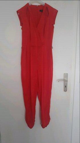 River Island Traje de pantalón rojo