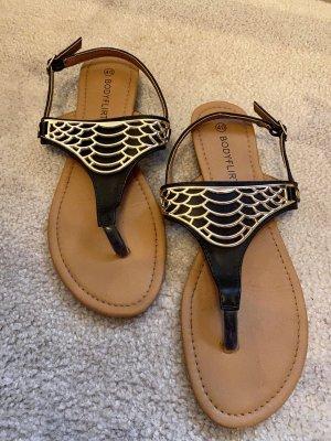BODY FLIRT Flip flop sandalen zwart