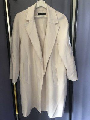 Hallhuber Manteau oversized blanc laine