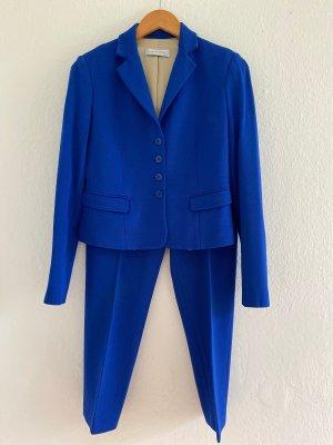 Laltramoda Tailleur-pantalon bleu coton