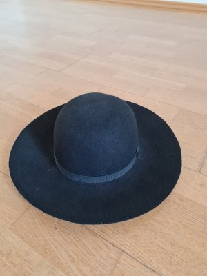 Monoprix Femme Cappello di lana nero Lana
