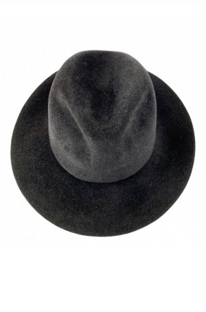 H.T.B. Hutmanufactur Woolen Hat black-anthracite