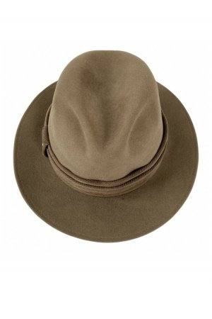 MAYSER Woolen Hat light brown-brown